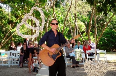 Beach Wedding Singer Guitarist